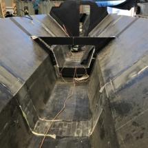 Main hull and forward bulkhead