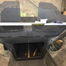 Under cockpit storage