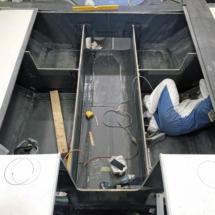 Cockpit without seats